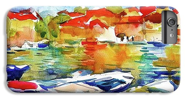 Watercolor Boats By Svetlana Novikova ( IPhone 6 Plus Case