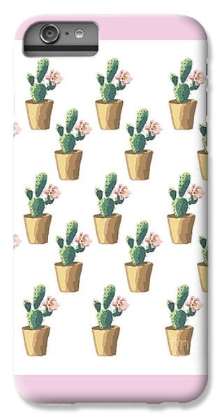 Watercolor Cactus IPhone 6 Plus Case by Roam  Images