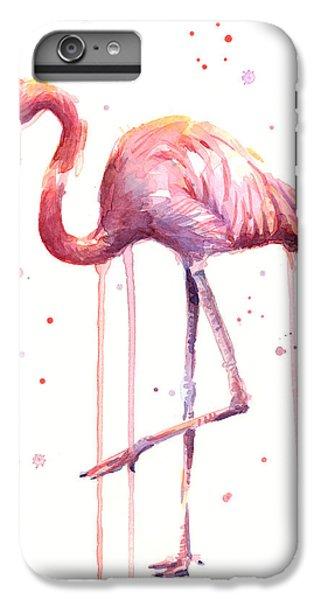 Watercolor Flamingo IPhone 6 Plus Case