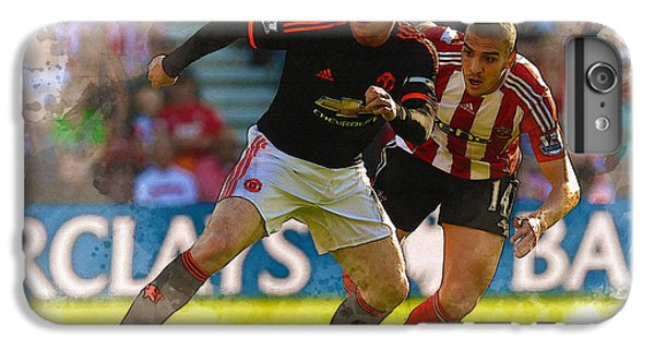Wayne Rooney iPhone 6 Plus Case - Wayne Rooney Is Marshalled by Don Kuing