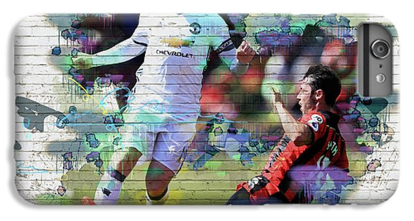 Wayne Rooney Street Art IPhone 6 Plus Case by Don Kuing