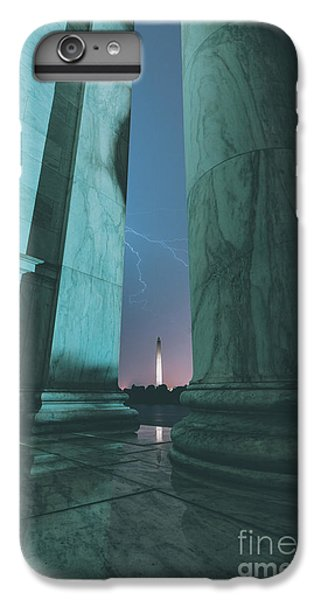 Washington Monument iPhone 6 Plus Case - We Hold These Truths by Rami Ruhman