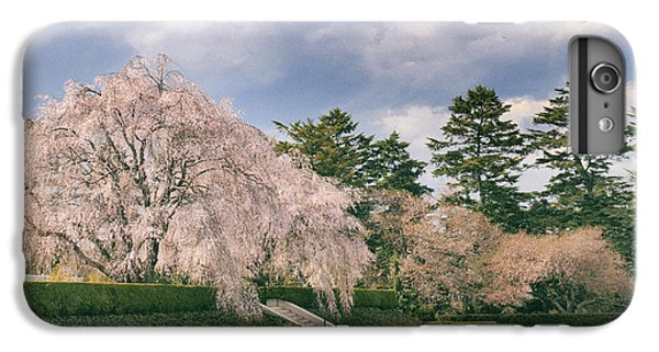 IPhone 6 Plus Case featuring the photograph Weeping Cherry In Bloom by Jessica Jenney