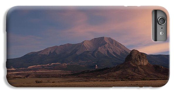 IPhone 6 Plus Case featuring the photograph West Spanish Peak Sunset by Aaron Spong