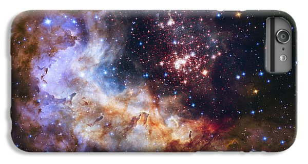 Westerlund 2 - Hubble 25th Anniversary Image IPhone 6 Plus Case by Adam Romanowicz