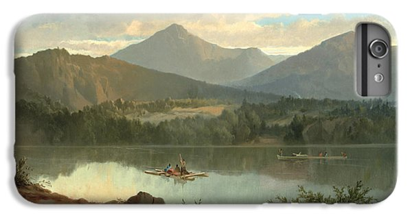 Mountain iPhone 6 Plus Case - Western Landscape by John Mix Stanley