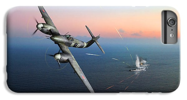 IPhone 6 Plus Case featuring the photograph Westland Whirlwind Attacking E-boats by Gary Eason