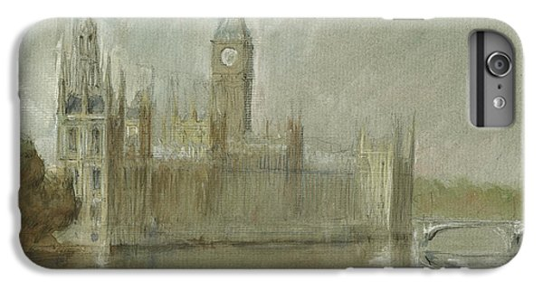 Westminster Palace And Big Ben London IPhone 6 Plus Case by Juan Bosco
