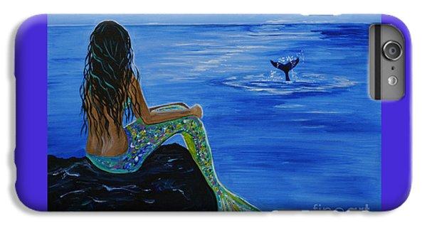 Whale Watcher IPhone 6 Plus Case by Leslie Allen
