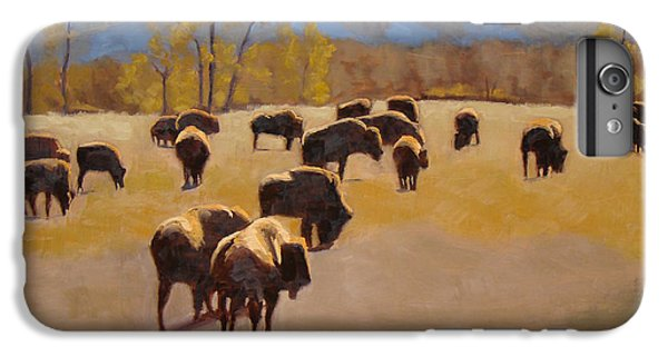 Where The Buffalo Roam IPhone 6 Plus Case by Tate Hamilton