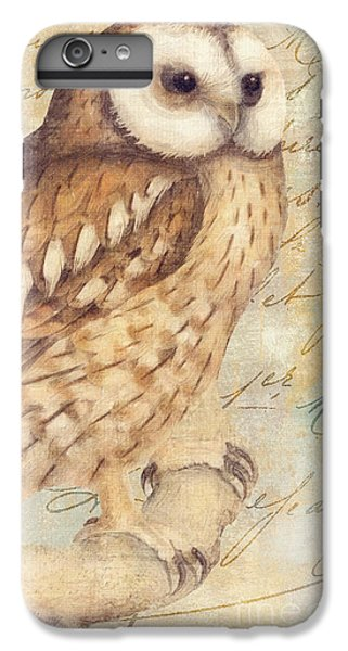 White Faced Owl IPhone 6 Plus Case by Mindy Sommers