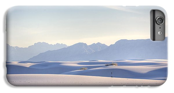 Desert iPhone 6 Plus Case - White Sands Blue Sky by Peter Tellone