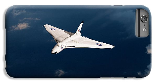 IPhone 6 Plus Case featuring the digital art White Vulcan B1 At Altitude by Gary Eason