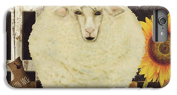 White Wool Farms IPhone 6 Plus Case by Mindy Sommers