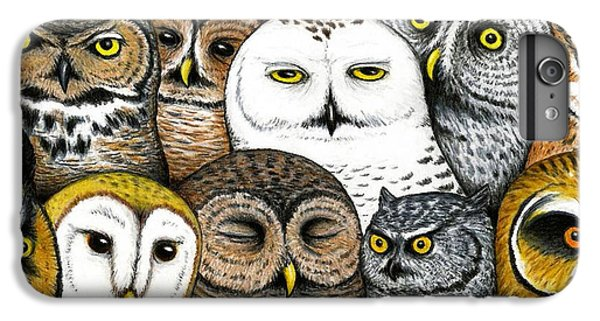 Owl iPhone 6 Plus Case - Who's Hoo by Don McMahon