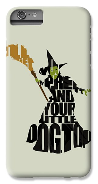 Wicked Witch Of The West IPhone 6 Plus Case by Ayse Deniz