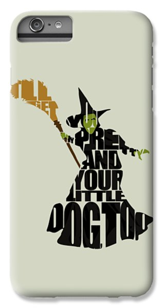 Wizard iPhone 6 Plus Case - Wicked Witch Of The West by Inspirowl Design