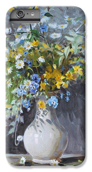 Daisy iPhone 6 Plus Case - Wild Flowers by Ylli Haruni