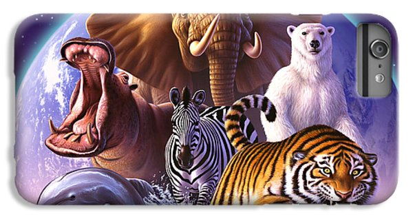 Wildlife iPhone 6 Plus Case - Wild World by Jerry LoFaro