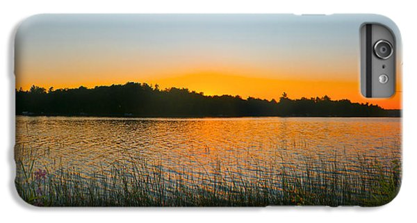 Wilderness Point Sunset Panorama IPhone 6 Plus Case by Gary Eason