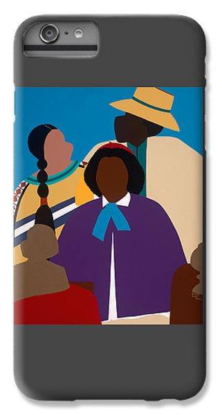 iPhone 6 Plus Case - Wildfire A Tribute To Edmonia Lewis by Synthia SAINT JAMES