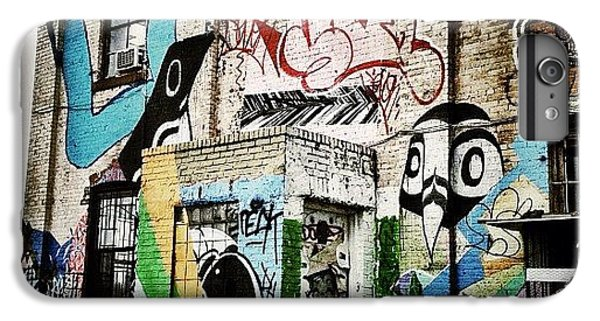 Bestoftheday iPhone 6 Plus Case - Williamsburg Graffiti by Natasha Marco
