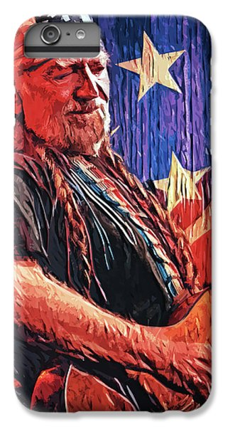 Willie Nelson IPhone 6 Plus Case