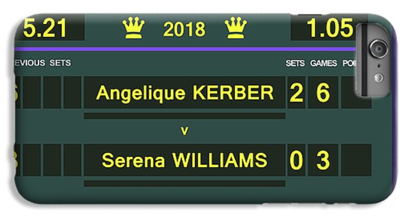 Wimbledon Scoreboard - Customizable - 2017 Muguruza IPhone 6 Plus Case