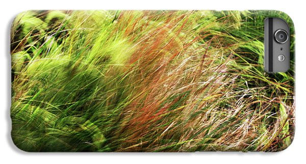 Windblown Grasses IPhone 6 Plus Case by Nareeta Martin