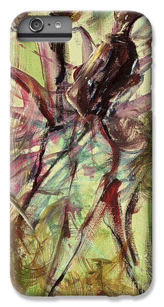 Harlem iPhone 6 Plus Case - Windy Day by Ikahl Beckford