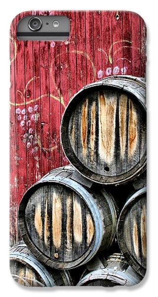 Wine Barrels IPhone 6 Plus Case by Doug Hockman Photography