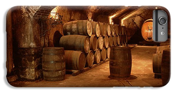London Tube iPhone 6 Plus Case - Wine Barrels In A Cellar, Buena Vista by Panoramic Images