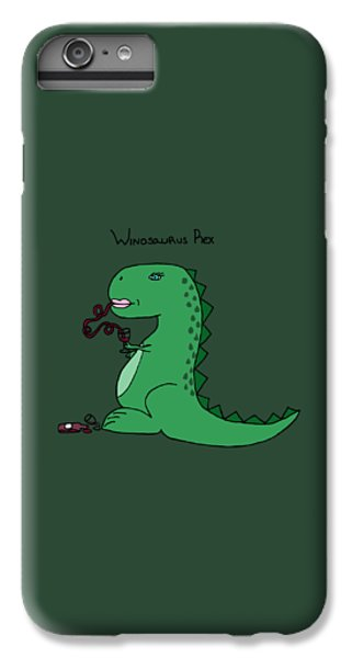 Winosaurus Rex IPhone 6 Plus Case by Tamera Dion