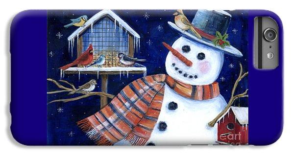 Winter Birds Delight IPhone 6 Plus Case