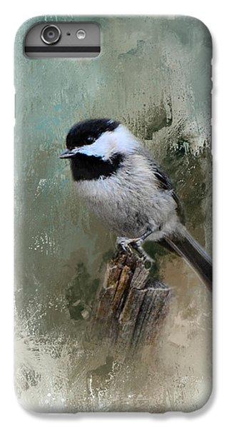 Winter Chickadee IPhone 6 Plus Case by Jai Johnson