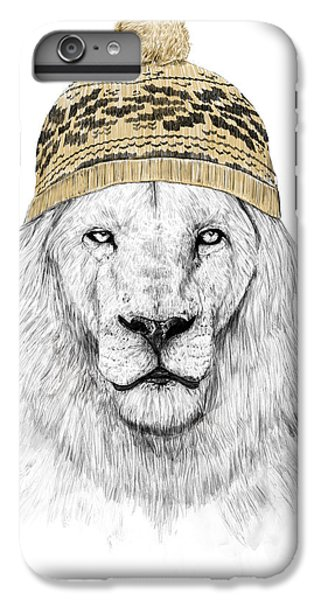 Lion iPhone 6 Plus Case - Winter Is Coming by Balazs Solti