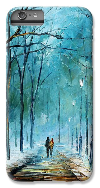 Afremov iPhone 6 Plus Case - Winter by Leonid Afremov