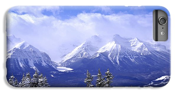 Mountain iPhone 6 Plus Case - Winter Mountains by Elena Elisseeva