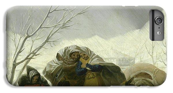 Winter Scene IPhone 6 Plus Case by Goya