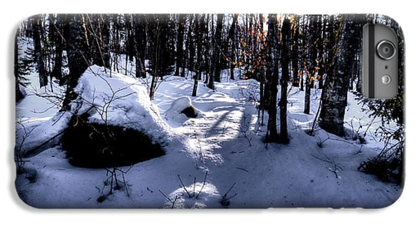 IPhone 6 Plus Case featuring the photograph Winters Shadows by David Patterson
