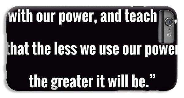 Thomas Jefferson iPhone 6 Plus Case - Wisdom Will Grow by Greg Joens