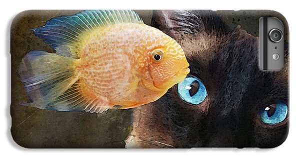 Wishful Thinking 2 - Siamese Cat Art - Sharon Cummings IPhone 6 Plus Case