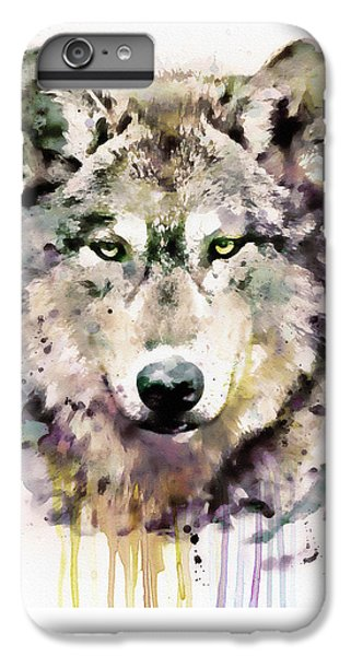 Wolves iPhone 6 Plus Case - Wolf Head by Marian Voicu