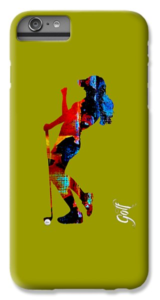 Womens Golf Collection IPhone 6 Plus Case