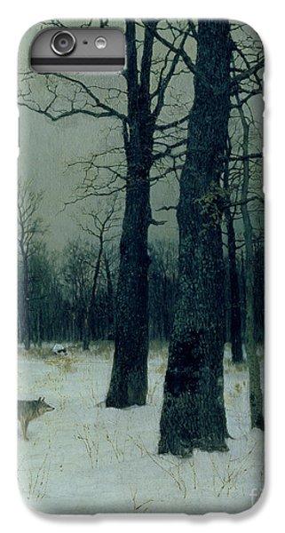 Barren iPhone 6 Plus Case - Wood In Winter by Isaak Ilyic Levitan