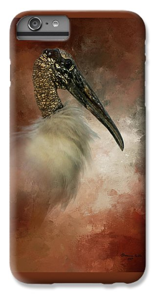 Stork iPhone 6 Plus Case - Wood Portrait  by Marvin Spates
