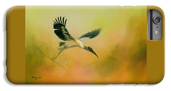 Stork iPhone 6 Plus Case - Wood Stork Encounter by Marvin Spates