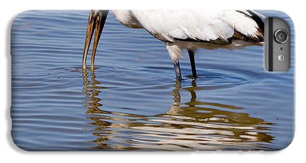 Wood Stork IPhone 6 Plus Case by Louise Heusinkveld