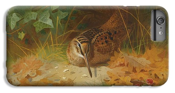 Woodcock IPhone 6 Plus Case by Celestial Images