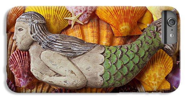 Wooden Mermaid IPhone 6 Plus Case by Garry Gay